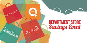 Best Department Store Deals & Cash Back