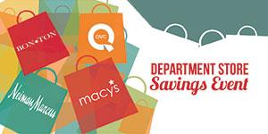 Best Department Store Deals & Cash Back