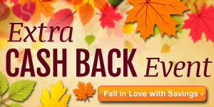 Top Fall Coupons + Cash Back