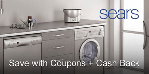 Sears Coupons + 10% Cash Back